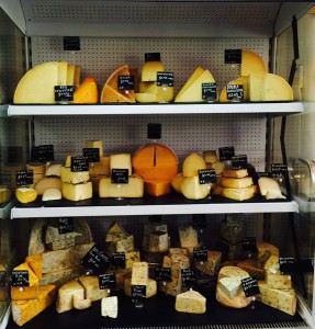 Just one of the cheese displays at GTF&D