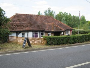 Sussex Farm Foods -the original premises in front of the new expanded shop